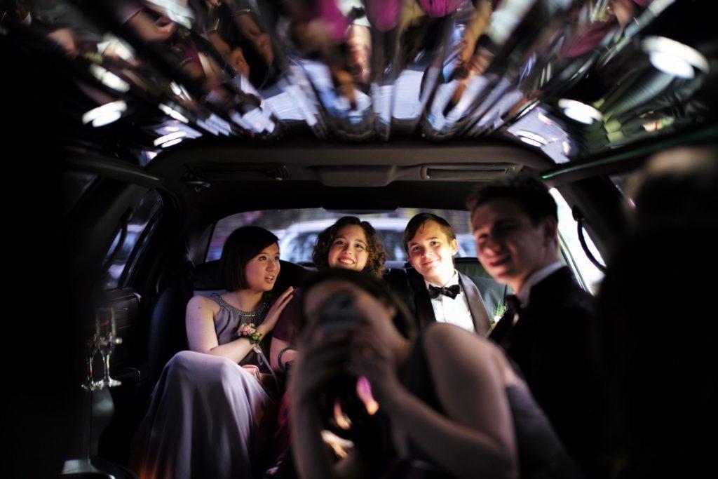 San Antonio Prom limousine rental transportation discount service