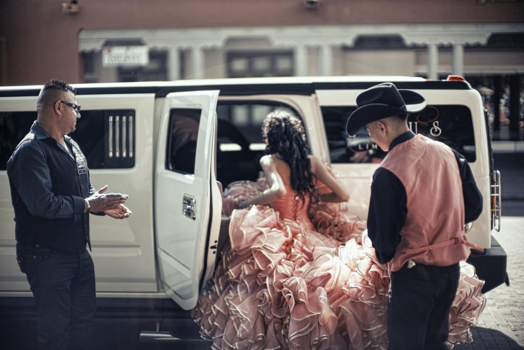 San Antonio Quinceanera Sweet 16 Limousines Buses Rental Services