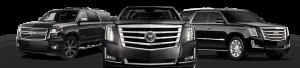 San Antonio SUV Rental Service, Cadillac, Yukon, Suburban, Black